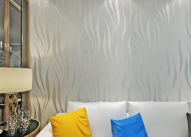 Papel pintado de la espuma no tejida, cáscara 3D y recubrimientos de paredes autos-adhesivo modernos del palillo
