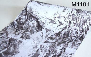 papel pintado auto-adhesivo del mármol del efecto 3D, papel pintado casero los 0.45*10m de la decoración