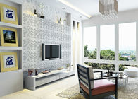 3D PVC Geometric Printing Wallpaper TV Background Contemporary Wall Covering