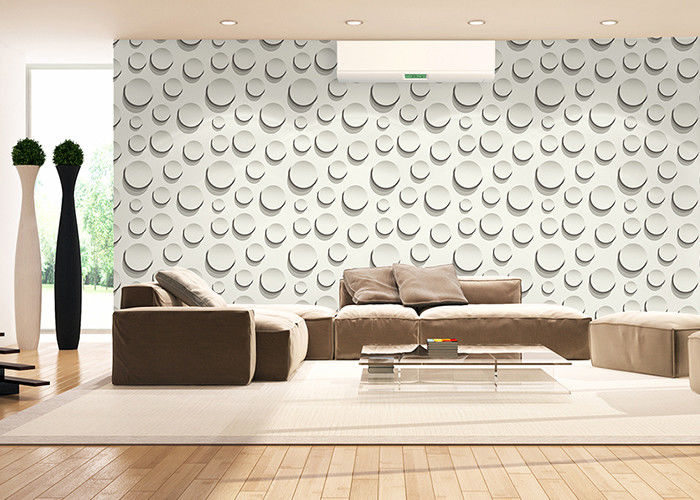 Household Interior Modern Removable Wallpaper Fashion Round Bead Pattern